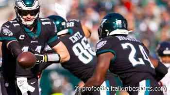 Eagles rule out Jordan Howard