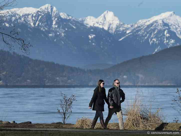 Vancouver Weather: Sunny, with slight chance of snow Sunday