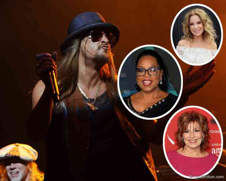 Kid Rock Booted From Bar Stage After Tirade Against Oprah, Joy Behar, & Kathie Lee Gifford