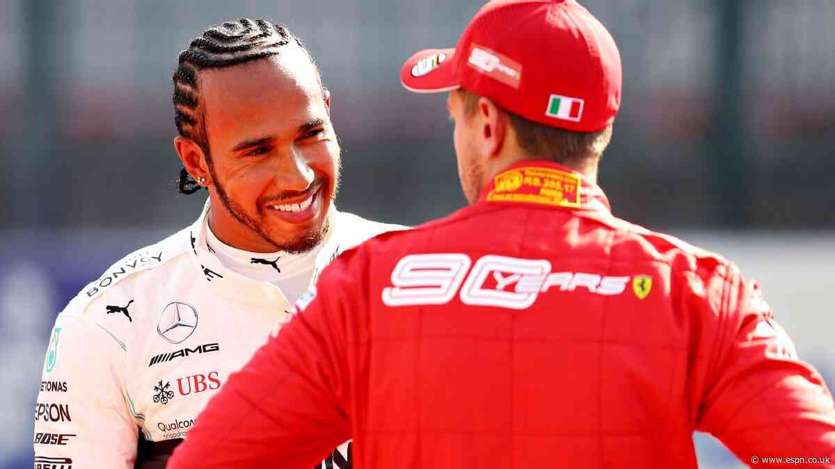 A look at why the Hamilton-Ferrari rumors are intensifying