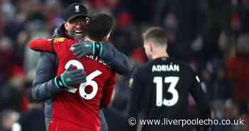 Jurgen Klopp hails surprise Liverpool man of the match after nail-biting Brighton win
