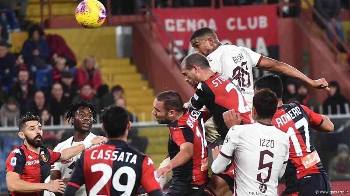 Serie A, Genoa-Torino 0-1: gol di Bremer al 77'
