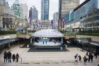 Vancouver's Robson Square Ice Rink opens today