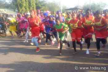 Nigerian Army conducts race for students in Toto