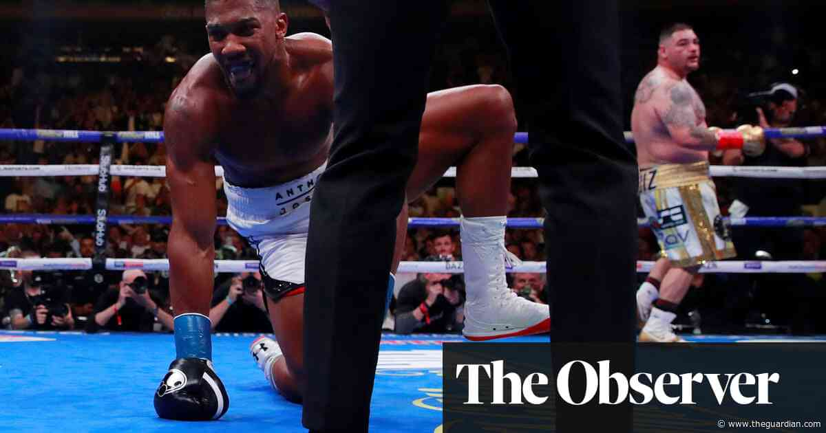 Anthony Joshua the businessman determined to regain his belts