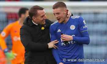 Brendan Rodgers believes Jamie Vardy is like two strikers rolled into one
