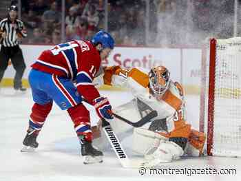 Canadiens extend losing streak to 7 games with OT loss to Flyers