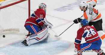 Call of the Wilde: Montreal Canadiens lose in overtime to the Philadelphia Flyers