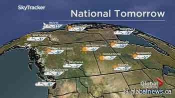 Edmonton weather forecast: Saturday, Nov. 30