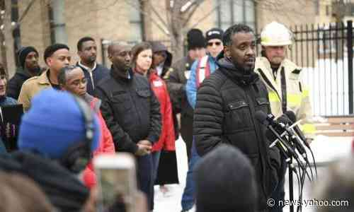'Nobody should have died': fear and anger in Minneapolis after public housing fire