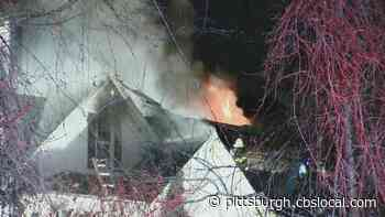South Fayette Fire Rips Through Residence