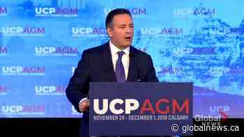 Alberta premier says UCP has implemented 92 platform commitments, working on 56 more