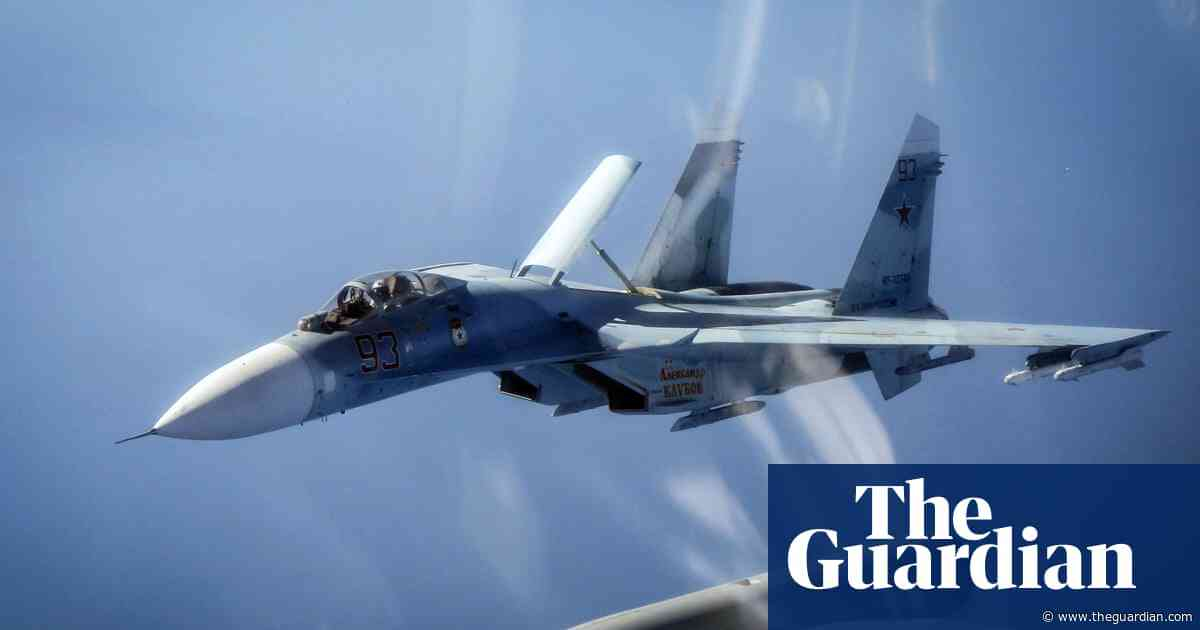 Loud bang heard across London 'caused by supersonic fighter jets'