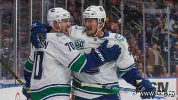 Tanner Pearson's career night helps Canucks cruise past Oilers