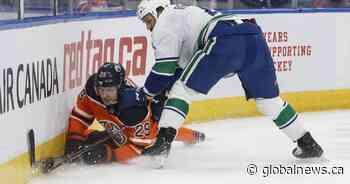 Canucks topple Edmonton Oilers 5-2