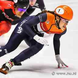 Schulting grijpt zege op 1.500 meter bij World Cup in Nagoya