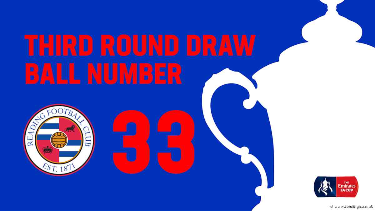 Royals to be ball 33 in FA Cup draw