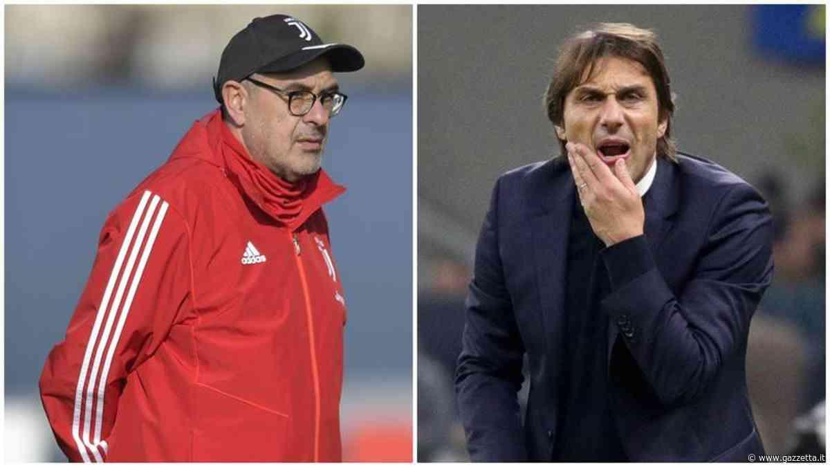 Juve-Inter, duello a distanza sulla strada per lo scudetto