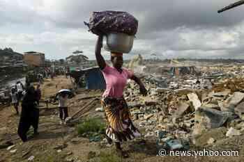 Abidjan district demolished for bridge