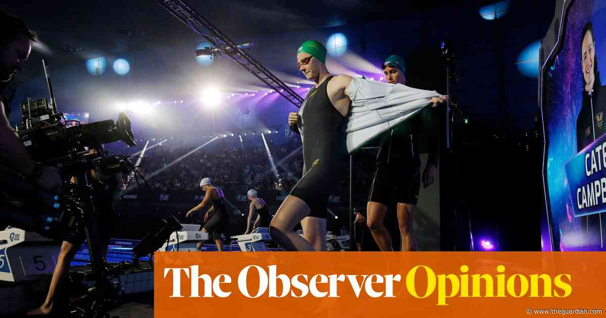 Swimming just the latest to throw a small but tasty morsel to the masses | Emma John