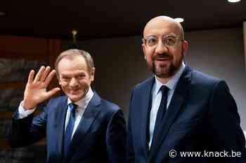 Charles Michel treedt aan als Europees 'president'