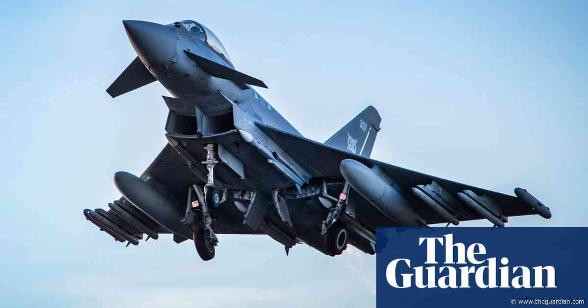 Sonic boom: loud bang that shook London caused by supersonic fighter jets