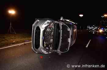 Schwerer Unfall auf B289 bei Weidnitz: Auto überrollt Betrunkenen - 20-Jähriger lebensgefährlich verletzt
