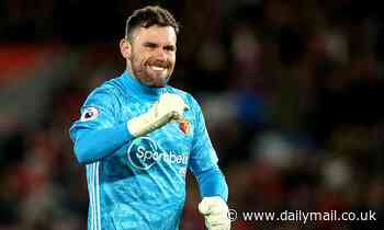 Sheffield United 'eyeing up a move for goalkeeper Ben Foster if Watford go down'