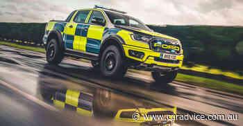 Ford Ranger Raptor police car earns its stripes