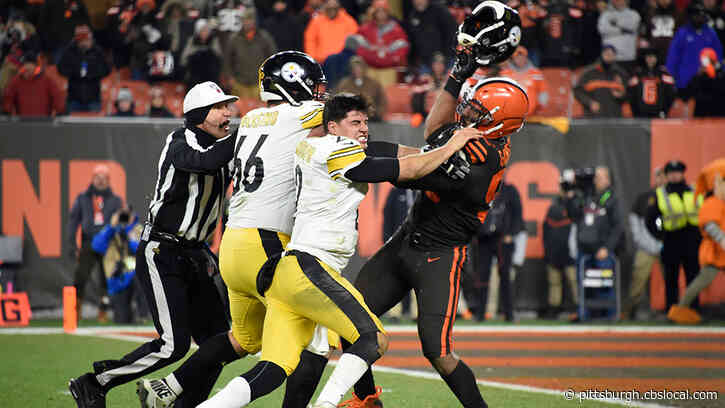 Steelers And Browns Meet For First Time Since Big Brawl