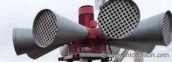 Les sirènes vont retentir dans les communes des Alpes-Maritimes ce dimanche