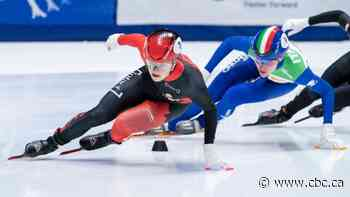 Canada's Kim Boutin skates to World Cup short track silver