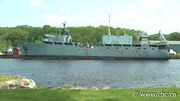 Former navy ship in Bridgewater 'imminent threat of pollution,' coast guard says