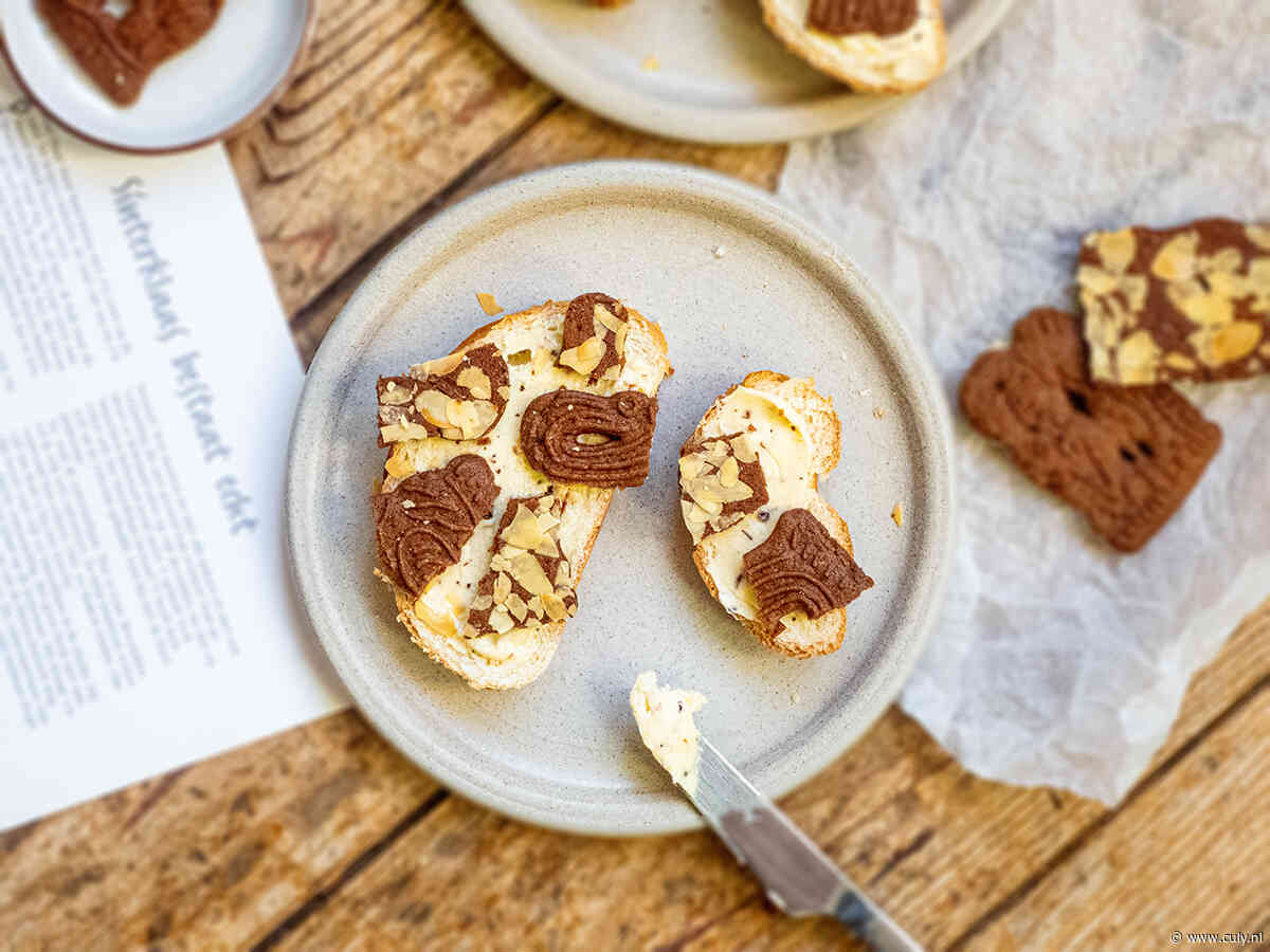 Culy Homemade: broodje speculaas met anijsboter voor Sinterklaas