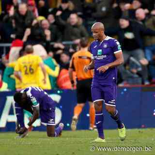 Kompany en Anderlecht gaan onderuit in Oostende: 3-2