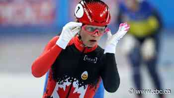 Canada's Kim Boutin captures World Cup short track gold, silver in Japan