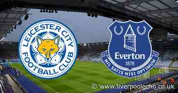 Leicester City vs Everton LIVE commentary stream, latest score and goal updates