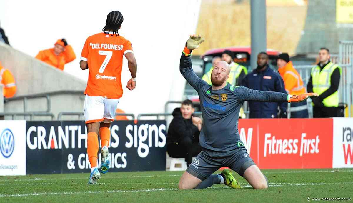 Report: Blackpool 3 Maidstone United 1