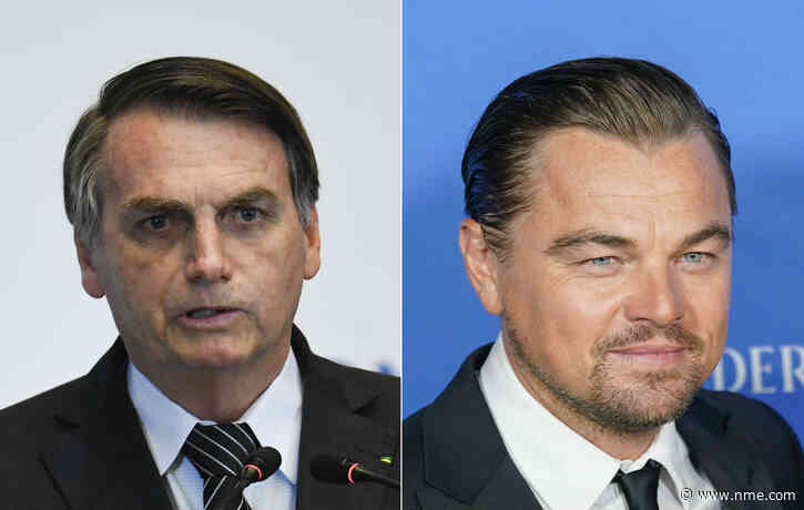 Brazil's president claims Leonardo DiCaprio funded the Amazon fires