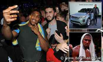How Anthony Joshua's Hollywood story has turned him into a social media star