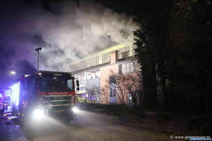 """Grote brand in fabriekspand Eerbeek: """"Veel rookontwikkeling"""""""
