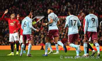 Manchester United 2-2 Aston Villa: Tyrone Mings scores equaliser as United drop more points