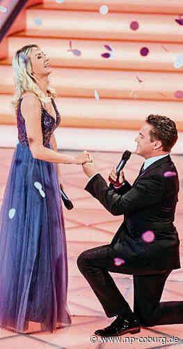 Suhl: Heiratsantrag live bei TV-Show