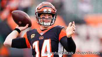 Bengals up 10-3 in bid for first win of year