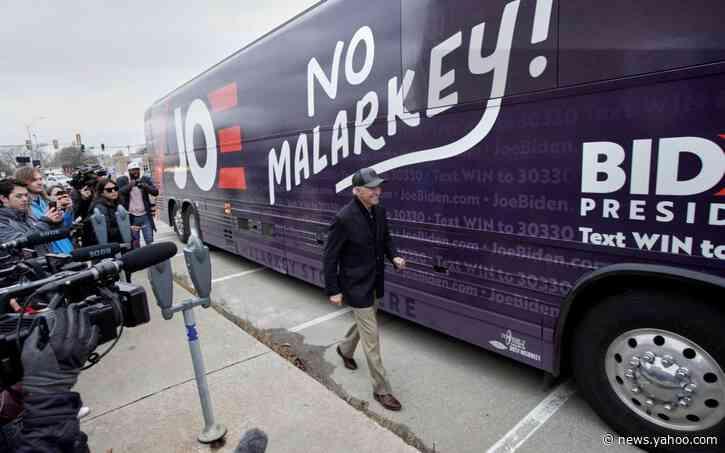Joe Biden mocked for 'no malarkey' campaign pledge
