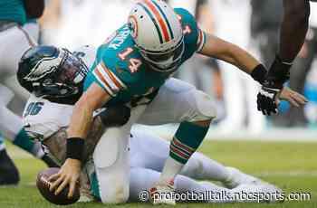 Dolphins take lead but lose Kalen Ballage to injury