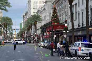 11 wounded in shooting rampage at New Orleans French Quarter;  no arrests made