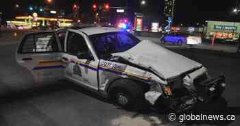 Mountie among 5 injured in serious crash involving police cruiser in Coquitlam
