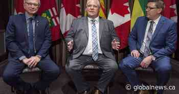 Premiers Moe, Ford, Higgs to collaborate on development of nuclear reactors in Canada