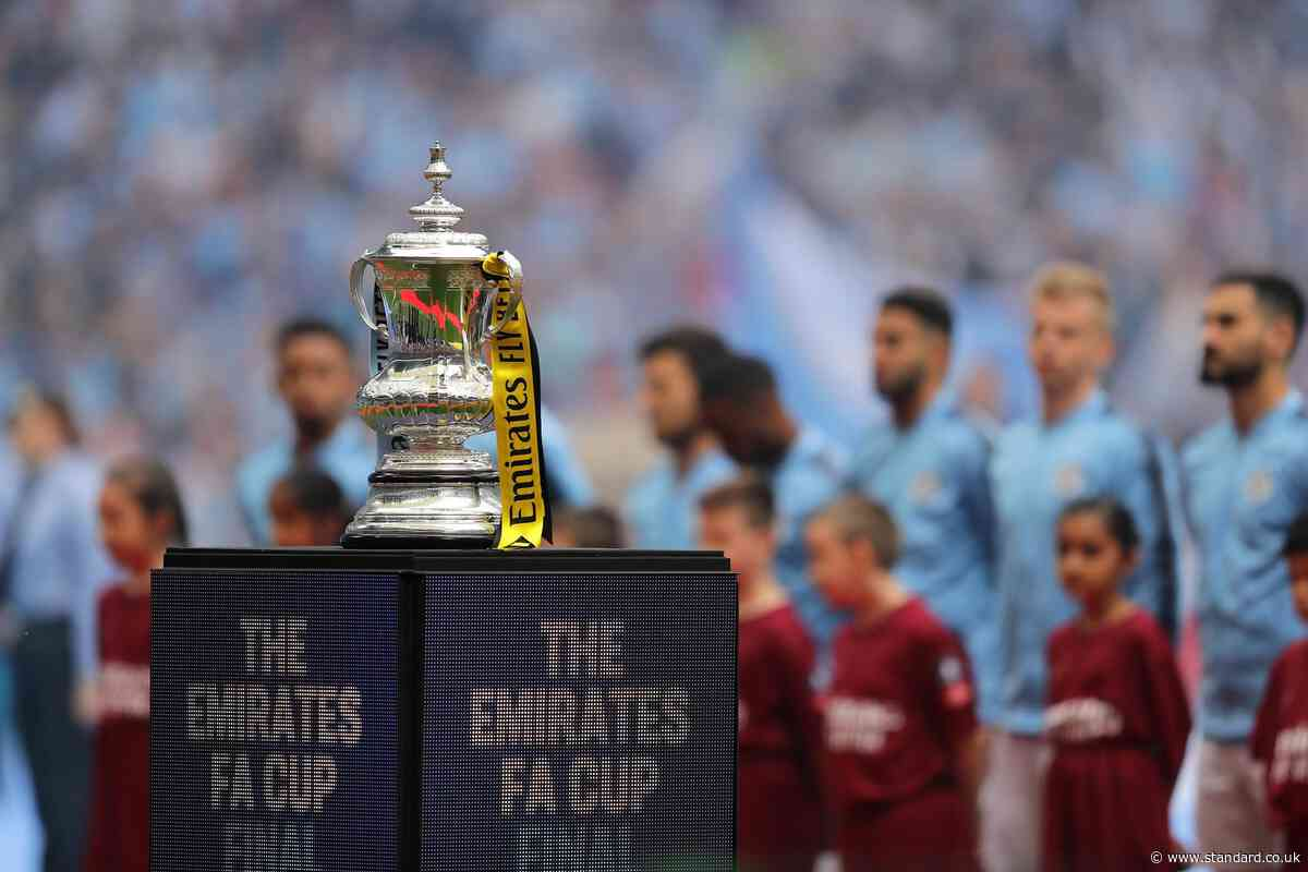 FA Cup third round draw: Ball numbers, start time and TV channel as Premier League teams enter
